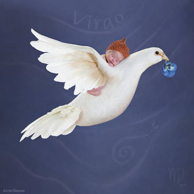 Virgo Photograph - Virgo by Anne Geddes