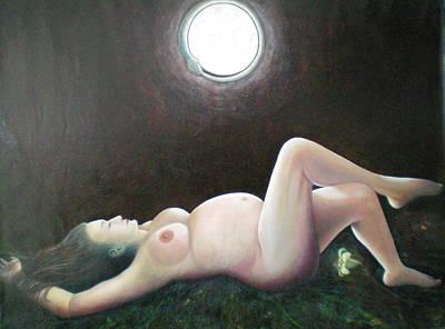 Dea Painting - Virgo Intacta by Rossella Rispoli Segato