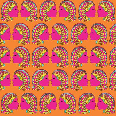 Virgo Zodiac Sign Pattern Original by Prathamesh Prabhu