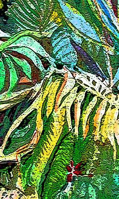 Viridian Art Print by Mindy Newman