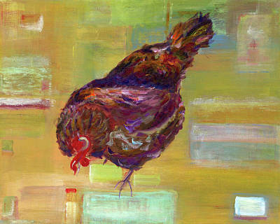Virtual Reality Painting - Virtual Chicken by Michelle Reeve