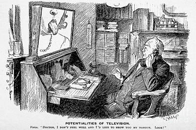 Virtual Doctors Visit, 1932 Art Print by Wellcome Images