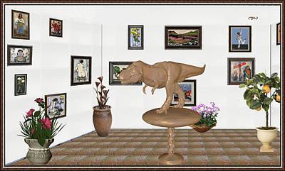 Virtual Exhibition _ Dinosaur Rex Original by Pemaro