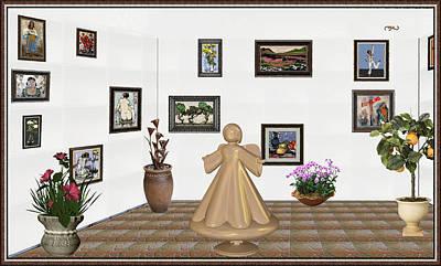 virtual exhibition_Statue of angel 22 Original by Pemaro