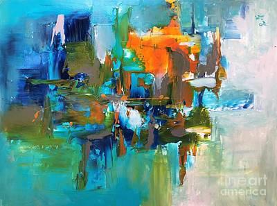 Painting - Virtual by Preethi Mathialagan