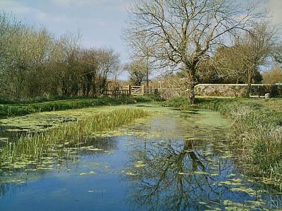 Photograph - Virworthy Wharf Bude Canal Aqueduct Trail Cornwall by Richard Brookes