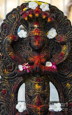 Hindu Gods Photograph - Vishnu by Tim Gainey