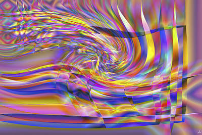 Jacques Raffin Digital Art - Vision 31 by Jacques Raffin