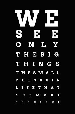 Eye Chart Digital Art - Vision by Art Spectrum