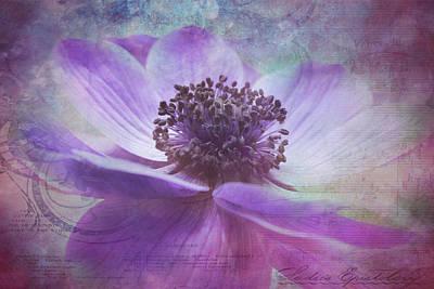 Vision De Violette Art Print