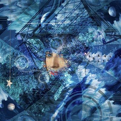 Digital Art - Vision Dreams by Anna Louise