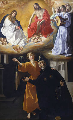 Painting - Vision Of Blessed Alonso Rodriguez by Francisco de Zurbaran