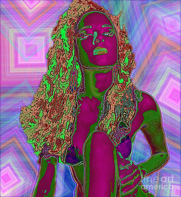 Vision Of Color Art Print by Tbone Oliver