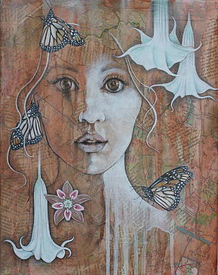Gaia Mixed Media - Vision by Sheri Howe