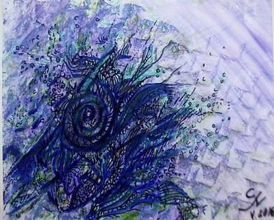 Abstract Movement Drawing - Vision by SiL Art by Silviya Bonkina
