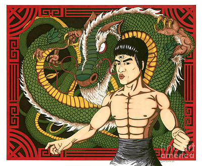 Visionary Bruce Lee Original