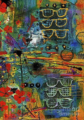 Mixed Media - Visions Of A Good Life by Angela L Walker