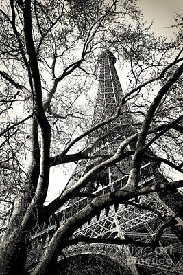 Photograph - Visions Of Eiffel In Paris by John Rizzuto