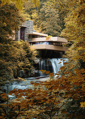 Photograph - Visions Of Fallingwater - #3 by Stephen Stookey