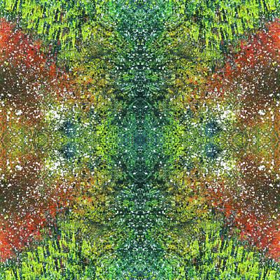 Fireworks Mixed Media - Visions Of The Spiritual Seeker #1461 by Rainbow Artist Orlando L aka Kevin Orlando Lau