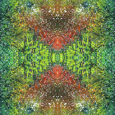 Fireworks Mixed Media - Visions Of The Spiritual Seeker #1462 by Rainbow Artist Orlando L aka Kevin Orlando Lau
