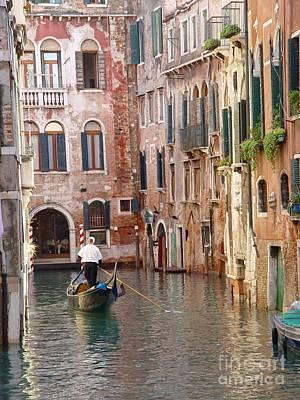 Visions Of Venice 2. Art Print