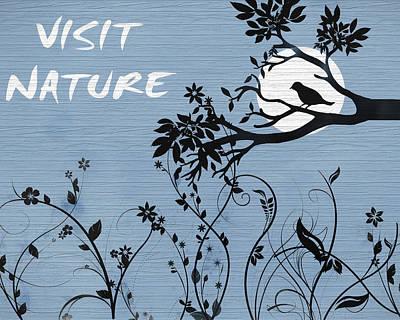 Visit Nature Art Print