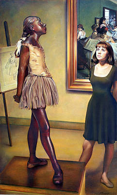 Edgar Degas Wall Art - Pastel - Visit To The Museum by Patrick Anthony Pierson
