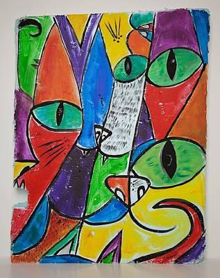 Painting - Visit To The Vet by Sierra Logan