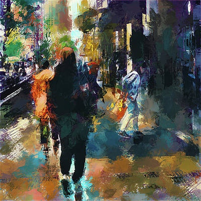 visiting Chicago Art Print by Yury Malkov
