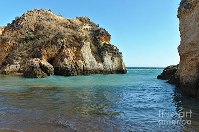 Photograph - Visiting Praia Dos Tres Irmaos In Algarve, Portugal by Angelo DeVal