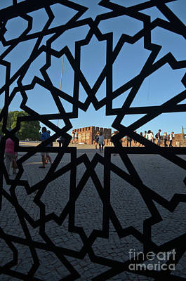 Ruins Photograph - Visiting The Medieval Castle Of Silves by Angelo DeVal