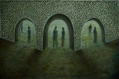 Painting - Visiting Times by Siyavush Mammadov