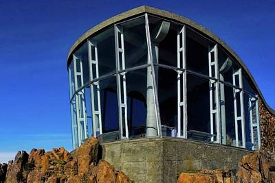 Photograph - Visitor Center Atop Mt. Wellington by Kirsten Giving