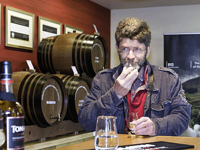 Photograph - Visitor Samples Single Malt Whisky by Fran Gallogly