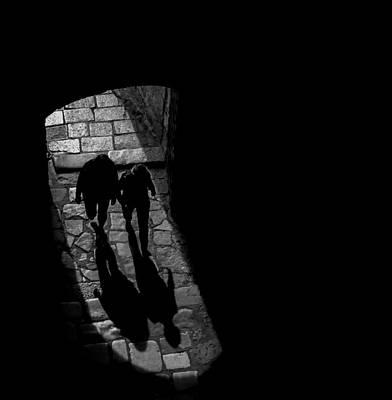 Shadows Photograph - Visitors by Pawel Majewski