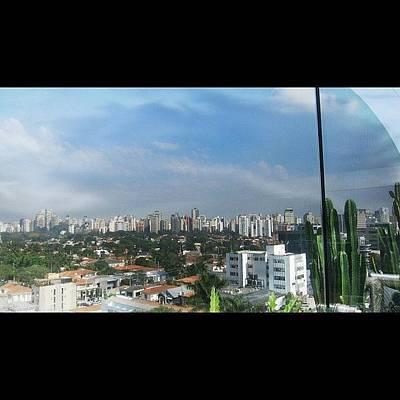 Skylines Wall Art - Photograph - View Of Downtown Sao Paulo by Remeldo Emilio