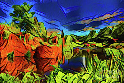 Photograph - Vista 21318 by Ray Shrewsberry