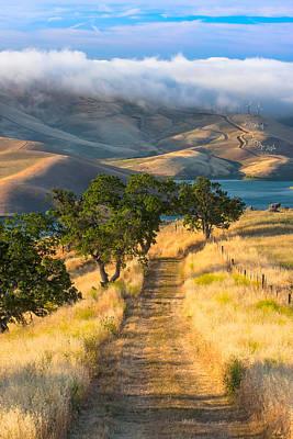 Vista Grande Trail At Sunrise Art Print