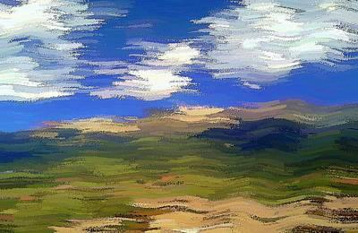 Digital Art - Vista Hills by David Manlove