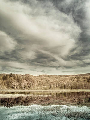 Photograph - Vista Into Dry Lagoon by Greg Nyquist