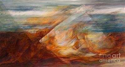 Painting - Vista Quantum by Teresa Dunwell