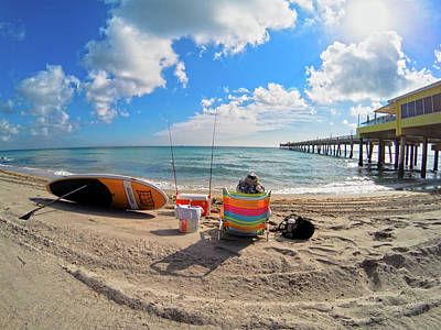 Photograph - Gone Fishing  Gopr1260 by Carlos Diaz