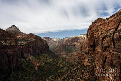 Photograph - Vista View In Zion National Park by Dan Friend