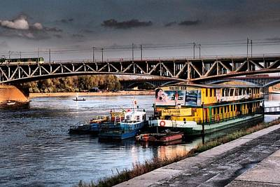Photograph - Vistula Bridges by Dora Hathazi Mendes
