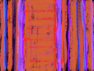 Visual Cadence Xix Art Print by Julie Niemela