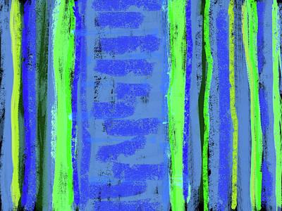 Visual Cadence Xxi Art Print by Julie Niemela