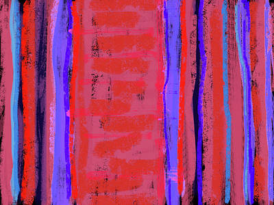 Visual Cadence Xxii Art Print by Julie Niemela