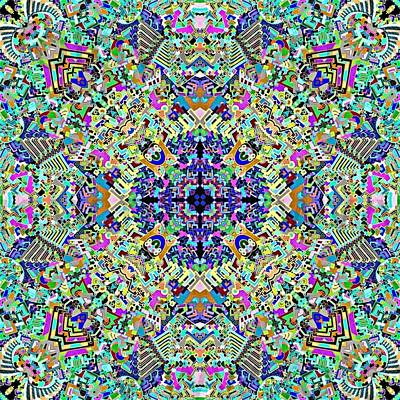 Visual Hymn From The Dimension Of Details Print by Davivid Rose