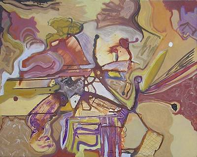 Free Form Painting - Visual Jazz #13 by Philip Rader